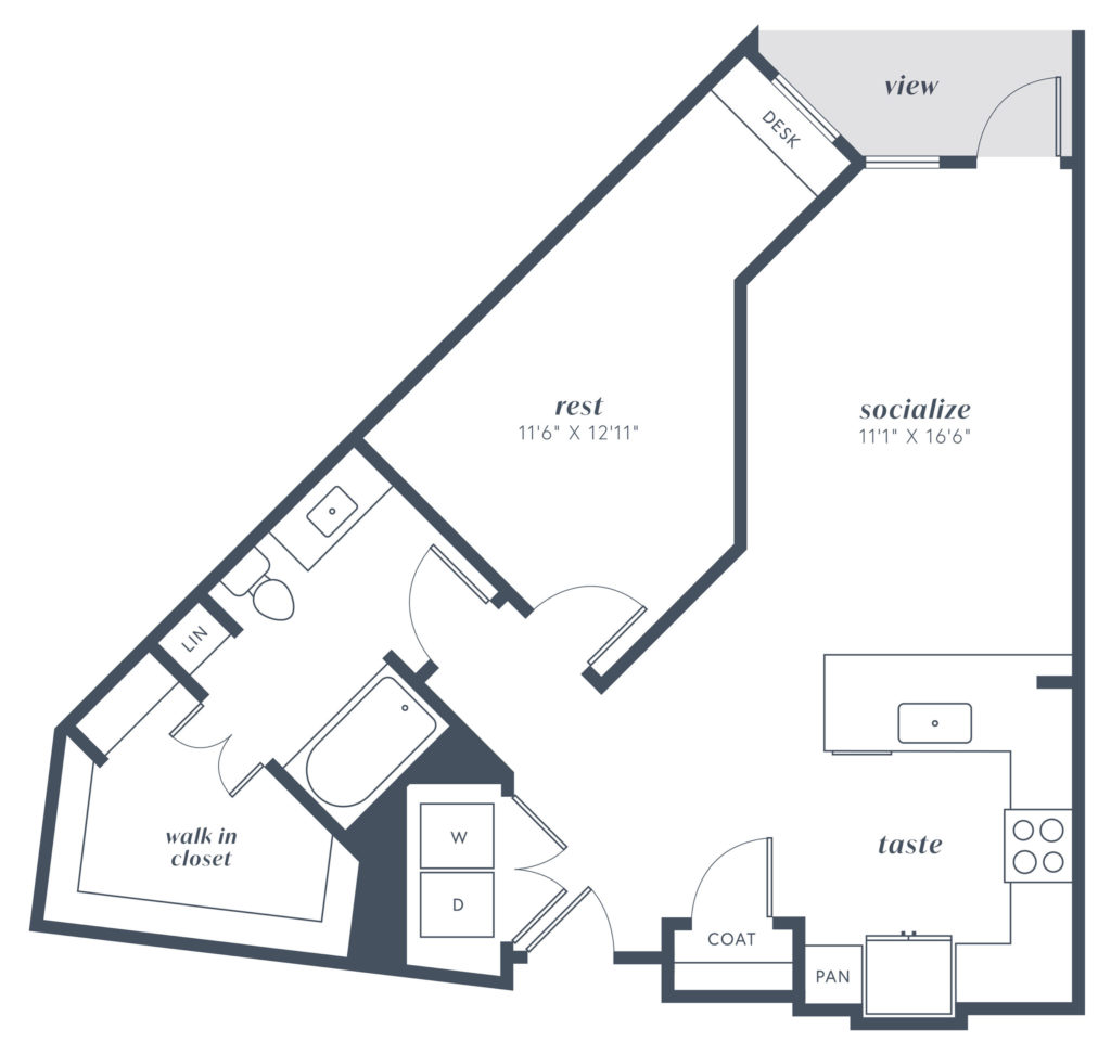 alexan julian a7 one bed one bath luxury apartment home - Find the Life you Want