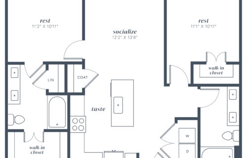 B1 two bed/two bath at Alexan Julian - Find Your Ideal Comfy Spot