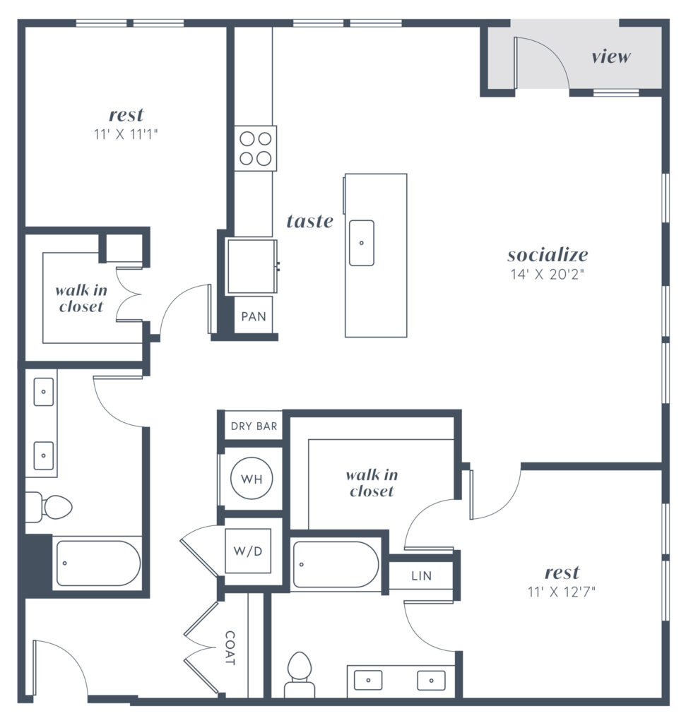 B9 two bed/two bath - Stretch Out in Pure Comfort