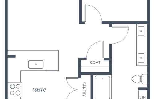 One-Bedroom at Alexan Julian